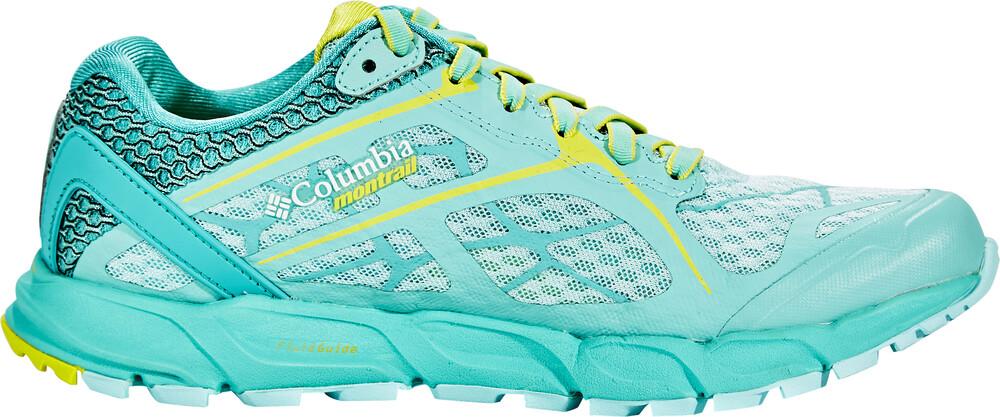 Columbia Damen Trailrunning-Schuhe, CALDORADO II, Blau (Aquarium, Zour), 36.5 EU